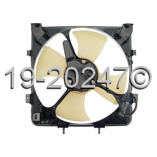 Honda Del Sol                        Cooling Fan AssemblyCooling Fan Assembly