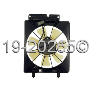 Honda CRV                            Cooling Fan AssemblyCooling Fan Assembly