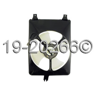 Honda Odyssey                        Cooling Fan AssemblyCooling Fan Assembly