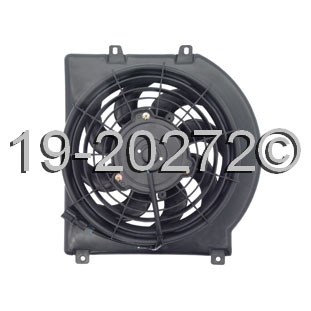 Isuzu Axiom                          Cooling Fan Assembly