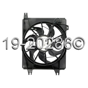 Hyundai Tiburon                        Cooling Fan AssemblyCooling Fan Assembly