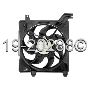 Hyundai Elantra                        Cooling Fan AssemblyCooling Fan Assembly