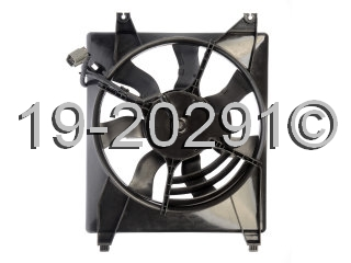 Hyundai Entourage                      Cooling Fan AssemblyCooling Fan Assembly