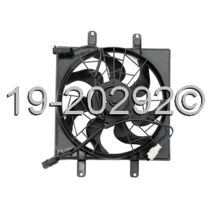Hyundai Excel                          Cooling Fan AssemblyCooling Fan Assembly
