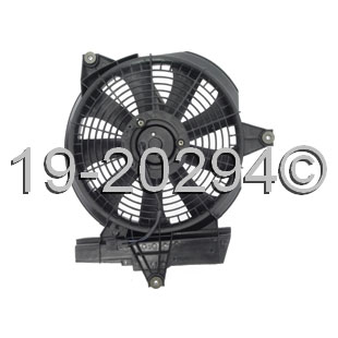 Hyundai Santa Fe                       Cooling Fan AssemblyCooling Fan Assembly