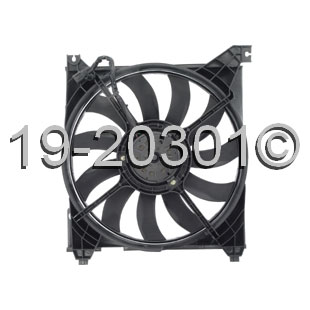Kia Optima                         Cooling Fan AssemblyCooling Fan Assembly