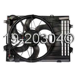 Hyundai Tucson                         Cooling Fan AssemblyCooling Fan Assembly