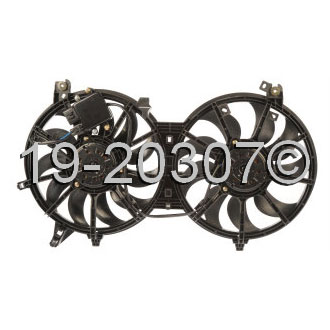 Infiniti EX35                           Cooling Fan AssemblyCooling Fan Assembly
