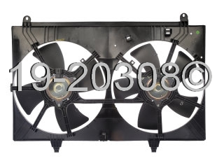 Infiniti FX35                           Cooling Fan AssemblyCooling Fan Assembly