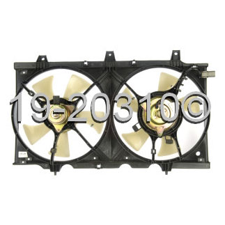 Infiniti G20                            Cooling Fan AssemblyCooling Fan Assembly