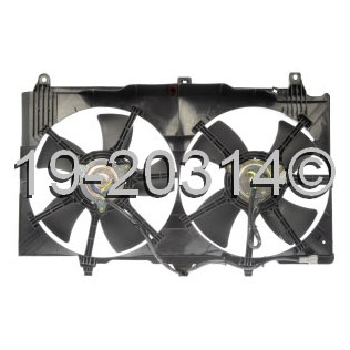 Nissan 350Z Cooling Fan Assembly