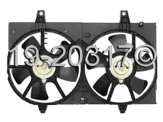 Infiniti I35                            Cooling Fan AssemblyCooling Fan Assembly