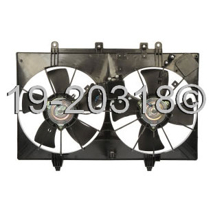Infiniti M35                            Cooling Fan AssemblyCooling Fan Assembly