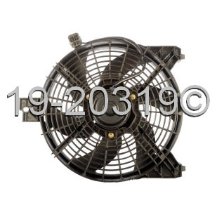 Nissan Titan                          Cooling Fan AssemblyCooling Fan Assembly