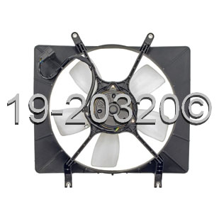 Isuzu Amigo                          Cooling Fan AssemblyCooling Fan Assembly