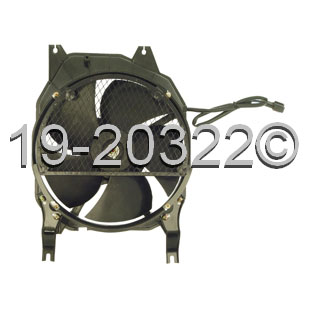 Isuzu Trooper                        Cooling Fan AssemblyCooling Fan Assembly