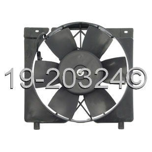Jeep Cherokee                       Cooling Fan AssemblyCooling Fan Assembly