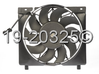 1999 Jeep Cherokee Cooling Fan Assembly
