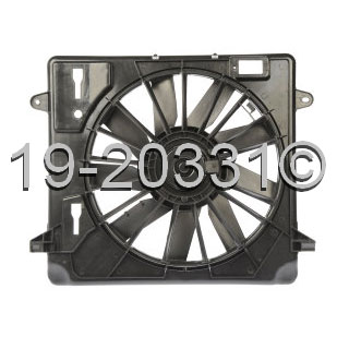 Jeep Wrangler                       Cooling Fan AssemblyCooling Fan Assembly