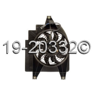 Kia Rio                            Cooling Fan AssemblyCooling Fan Assembly