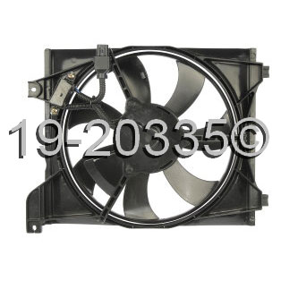 Kia Rio5                           Cooling Fan AssemblyCooling Fan Assembly