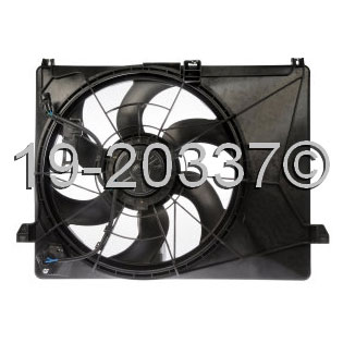 Kia Rondo                          Cooling Fan AssemblyCooling Fan Assembly