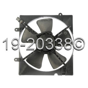Kia Sedona                         Cooling Fan AssemblyCooling Fan Assembly