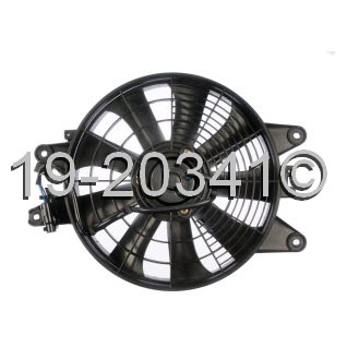Kia Sephia                         Cooling Fan AssemblyCooling Fan Assembly