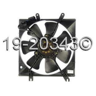 Kia Spectra                        Cooling Fan AssemblyCooling Fan Assembly