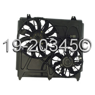 Kia Sorento                        Cooling Fan AssemblyCooling Fan Assembly