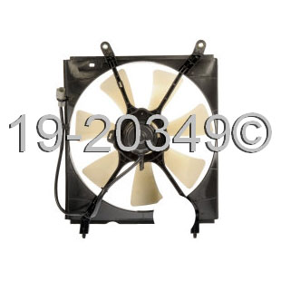 Lexus ES300                          Cooling Fan AssemblyCooling Fan Assembly