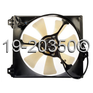 Toyota Camry                          Cooling Fan AssemblyCooling Fan Assembly