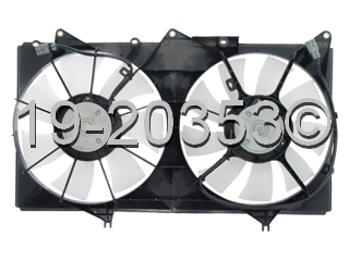 Toyota Solara                         Cooling Fan AssemblyCooling Fan Assembly