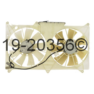 Lexus GS300                          Cooling Fan AssemblyCooling Fan Assembly