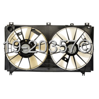 Lexus IS250                          Cooling Fan AssemblyCooling Fan Assembly