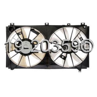 Lexus IS300                          Cooling Fan AssemblyCooling Fan Assembly