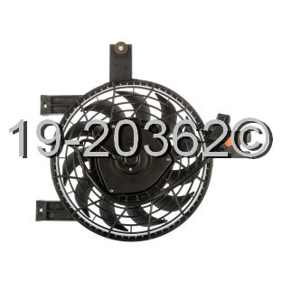 Lexus LX450                          Cooling Fan AssemblyCooling Fan Assembly