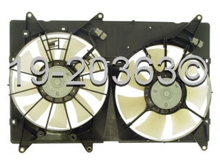 Lexus RX300                          Cooling Fan AssemblyCooling Fan Assembly