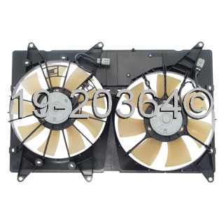 Toyota Highlander                     Cooling Fan AssemblyCooling Fan Assembly