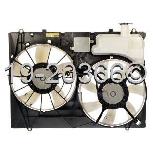 Lexus RX300                          Cooling Fan AssemblyCooling Fan Assembly
