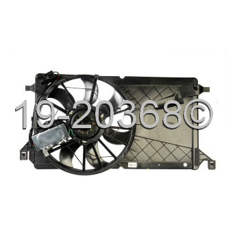 Mazda 3                              Cooling Fan AssemblyCooling Fan Assembly
