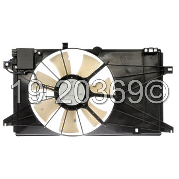 Mazda 5                              Cooling Fan AssemblyCooling Fan Assembly