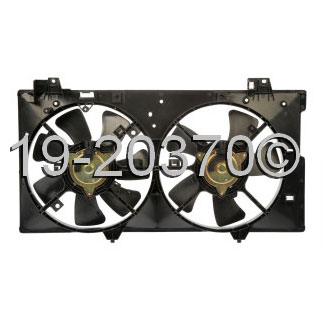 Mazda 6                              Cooling Fan AssemblyCooling Fan Assembly