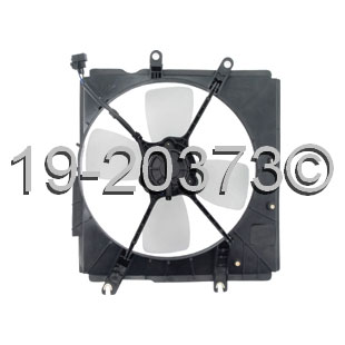 Mazda 323                            Cooling Fan AssemblyCooling Fan Assembly