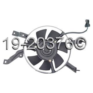 Mazda 626                            Cooling Fan AssemblyCooling Fan Assembly