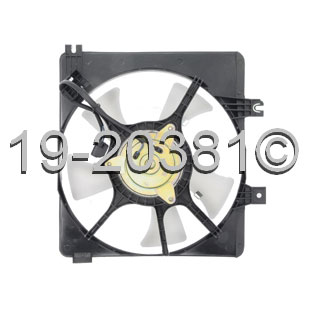 Mazda MX6                            Cooling Fan AssemblyCooling Fan Assembly