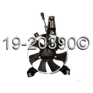 Mazda MPV                            Cooling Fan AssemblyCooling Fan Assembly