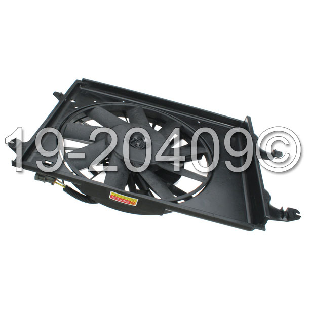 Mercury Villager                       Cooling Fan AssemblyCooling Fan Assembly