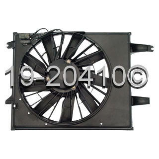 Nissan Quest                          Cooling Fan AssemblyCooling Fan Assembly