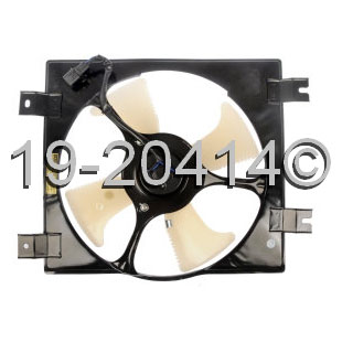Mitsubishi Diamante                       Cooling Fan AssemblyCooling Fan Assembly